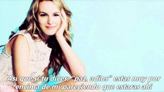 Bridgit Mendler - Forgot to laugh (Traducida al español)