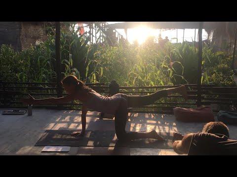 Yoga Teacher Training in India - She NAILS It!  He FAILS It!