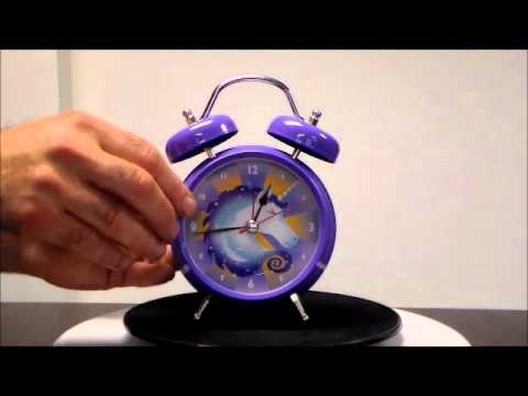 Streamline BTZ958 Legendary Unicorn Magical Wake up Sound Alarm Clock