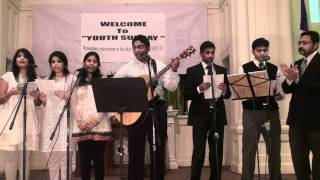 Youth Sunday Worship by FBCTS, Rahway, NJ, USA. Anni namamulakanna pai namamu