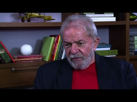 AFPTV exclusive interview with former Brazilian president Lula