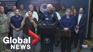 South Carolina Governor McMaster orders coastal evacuation as Dorian approaches | FULL