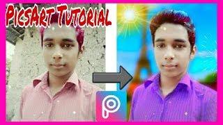 Picsart Tutorial_Picsart Photo Edit Tutorial DLSR Pictures_Shohag Technical Pro.