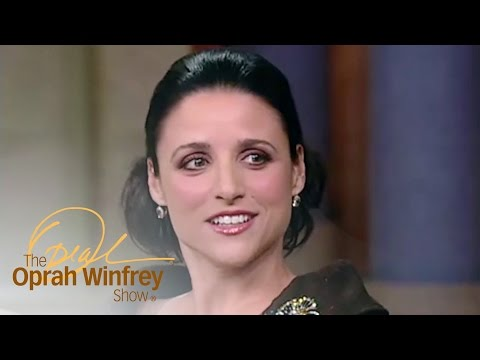 The Goofy Way Julia Louis-Dreyfus and Jerry Seinfeld Met | The Oprah Winfrey Show | OWN