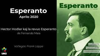 Voĉlegita Esperanto nr-o 4 2020 p. 79 – Hector Hodler kaj la revuo Esperanto