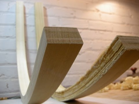 The Autodidacts Chair Part Two Bent Lamination  YouTube