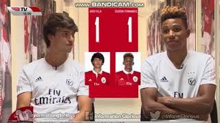 Quizz Benfica com João Félix e Gedson Fernandes