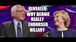 Former Bernie Staffer Reveals Why Bernie REALLY Endorsed Hillary!