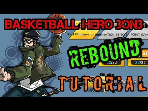 Basketball Hero Power Forward (PF) Rebound Tutorial