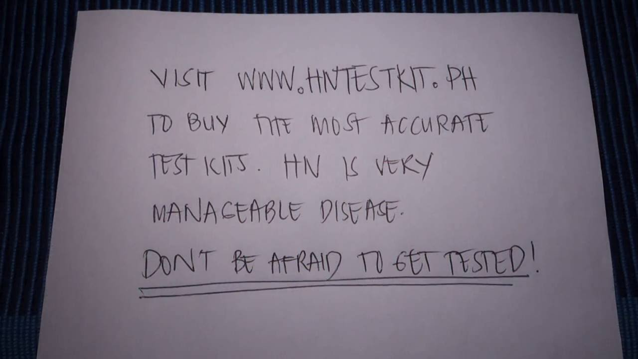 HIV Test Philippines HIV Testing, Treatment in Philippines