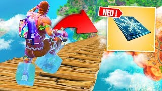 1000 KM/h Sprung *NEUE* EIS FALLE in FORTNITE !