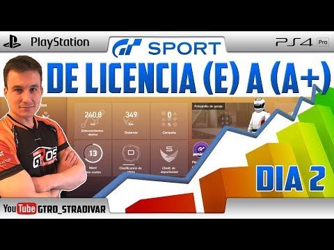 🔴 GT SPORT - DIRECTO | 📈 DE LICENCIA (E) a (A+) **DIA 2** | GTro_stradivar Carreras Online