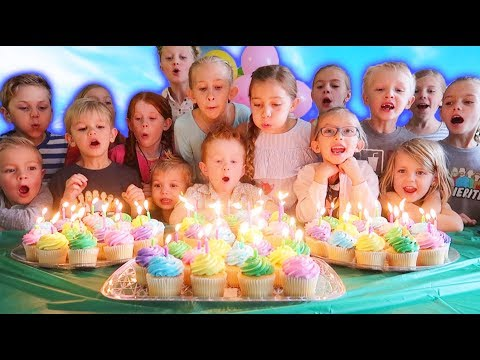 🌸 HUGE Birthday Party with 60 CANDLES! 🌞