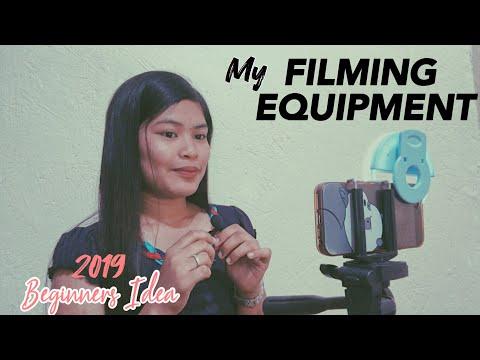 FILMING EQUIPMENT FOR BEGINNERS | Jabsvlog