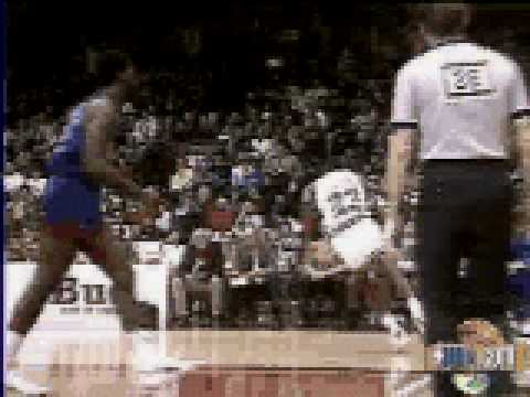 Jordan jam vs New Jersey Nets - NBA Regular Season 1987/1988