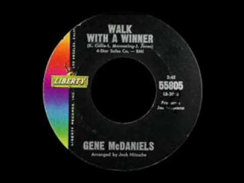 Gene McDaniels - Walk With A Winner
