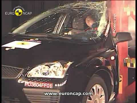Crash Test 2004 - 2011 European Ford Focus (Full Test ...
