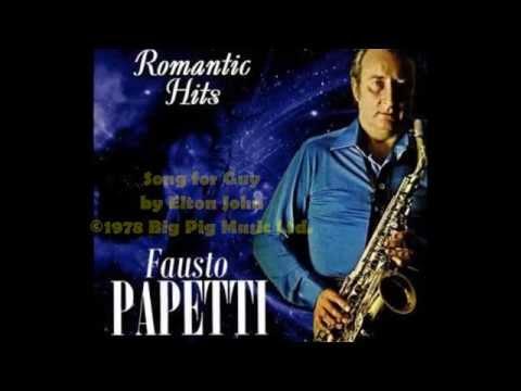 """Elton John's """"Song for Guy"""" - Fausto Papetti (1979)"""