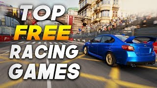 Top 5 Best Free Racing Games For Pc!  2018