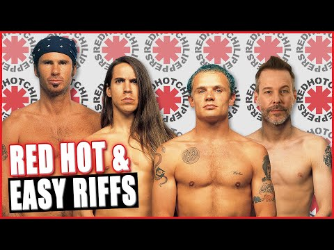 Top 6 Coolest Red Hot Chili Peppers Riffs That You Can Play Today (w/ TABS)