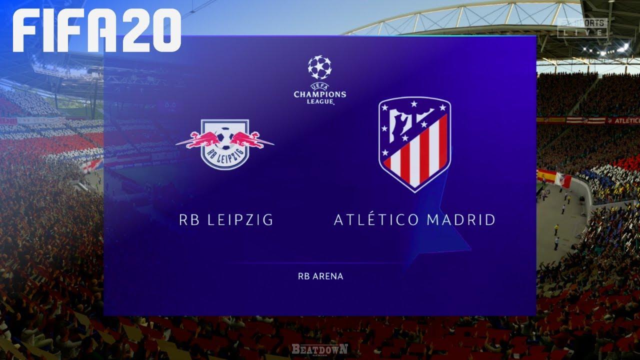 【足球直播】歐冠盃半準決賽:2020.08.14 03:00-RB萊比錫 VS 馬德里(RB Leipzig VS Madrid)