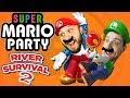 Super Mario Party River Survival Part 2 - Funhaus Gameplay