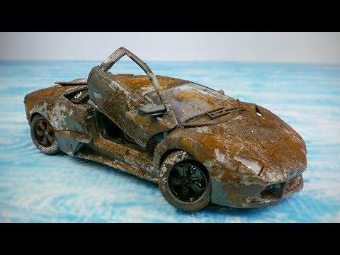 Restoration Rusty Lamborghini   Lamborghini Reventon