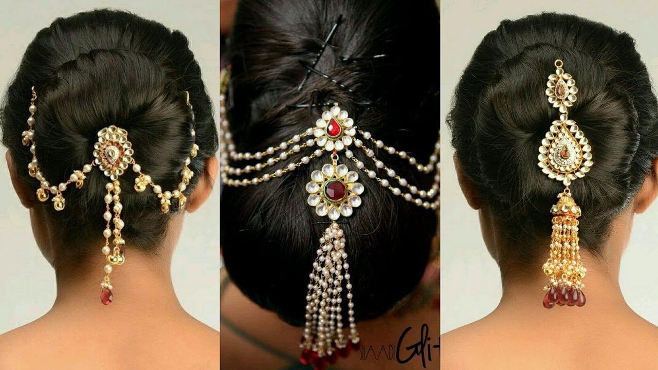 juda pin designs || bun pin designs || indian wedding hairstyles
