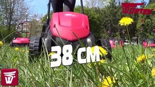 Газонокосилка электрическая WORTEX LM 3815 P. Electriс  lawn mower WORTEX LM 3815 P