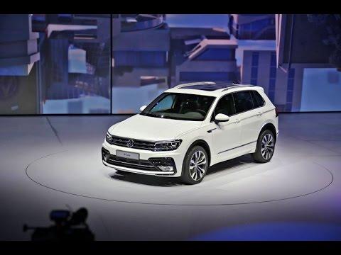 Мировой дебют нового поколения Volkswagen Tiguan