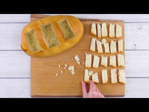 Grab A Loaf & Cut Out 3 Rectangles – What Comes Next Is So Yummy!