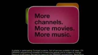 Comcast On Demand commercial pie