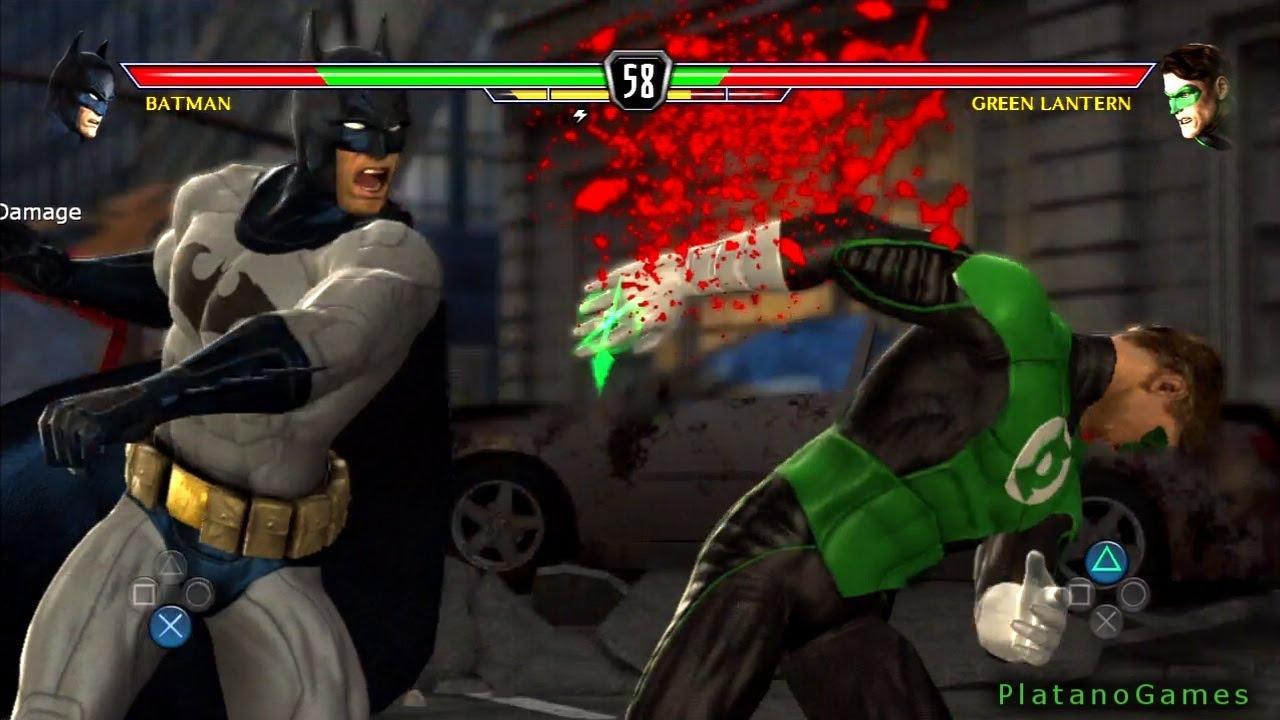 DC Universe Kombat - Batman vs Green Lantern - Mortal Kombat vs DC Universe  - HD