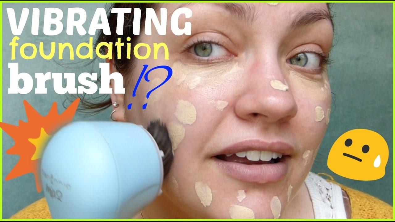 Vibrating Makeup Brush Clarisonic Sonic Foundation Brush Head