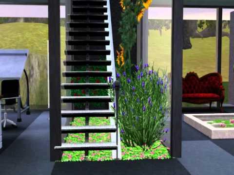 Casa Ecologica Moderna En Sims 3 Youtube
