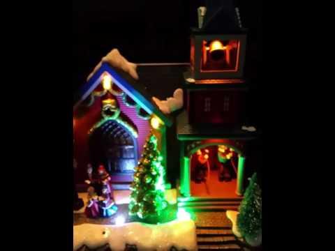Animated Christmas musical decoration..