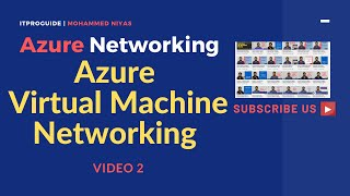 Azure Networking | How to Create Azure Virtual Machine | Add or Remove network interface | V-2