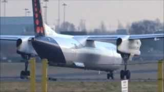 Planes at Birmingham Airport - Tuesday 20th January 2015