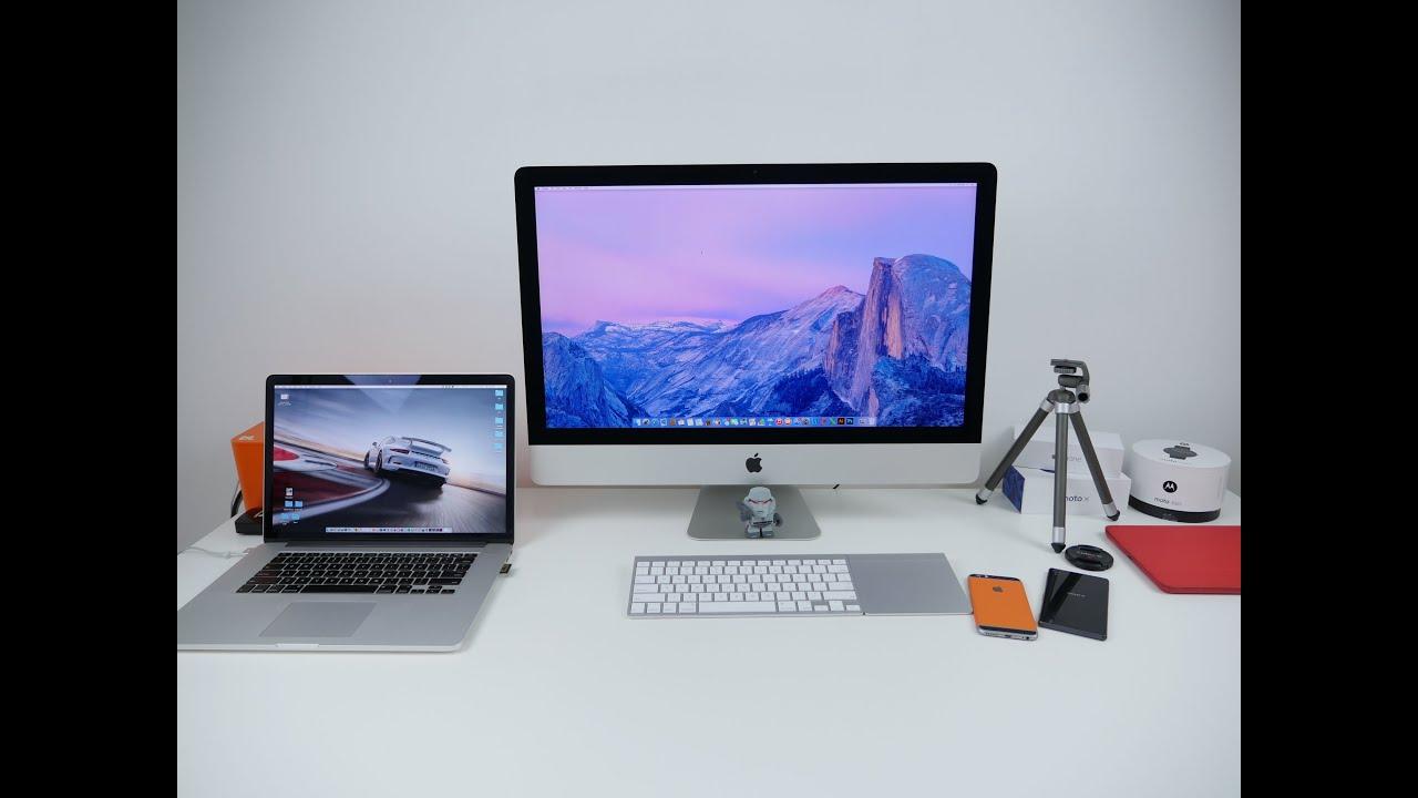 Desk Setup 2017