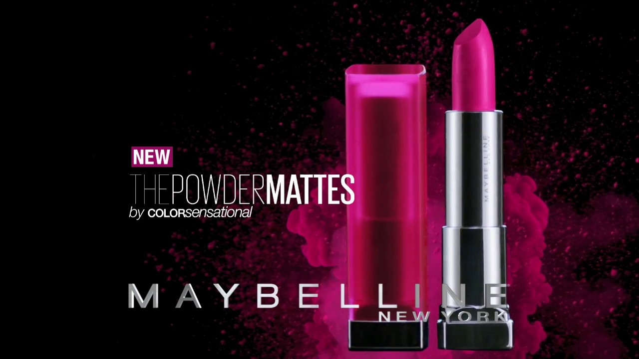 Maybelline New The Powder Mattes Lipstick Youtube