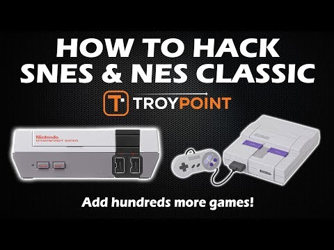 SNES Classic Hack - Add Hundreds Of Additional Games