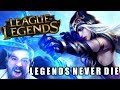 Legends Never Die (LEAGUE OF LEGENDS) 2018 - Cover by Caleb Hyles