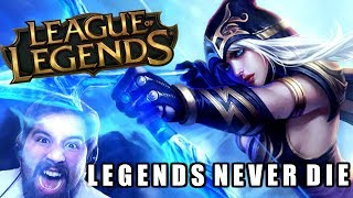 LEGENDS NEVER DIE [Metal Cover] (League of Legends) - Caleb Hy…