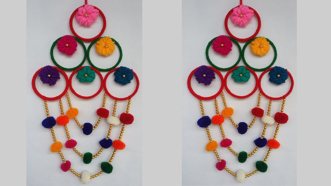 Diy Old Bangles Reuse Idea How To Make Wall Hanging