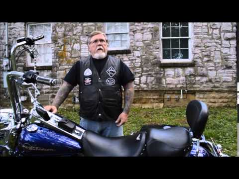 Outlaw motorcycle chapter holds memorial ride, ceremony for one of their own