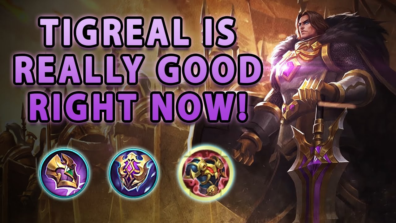 This Is Why The Revamped Tigreal Is Such A Great Tank | Mobile Legends