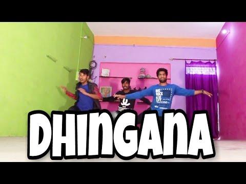 Dhingana | Raees | Shah Rukh Khan | JAM8 | Mika Singh | Feel Dance Center | Sooraj & Prabhat