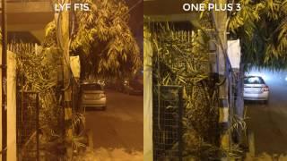 LYF F1S Camera samples vs One Plus 3 camera