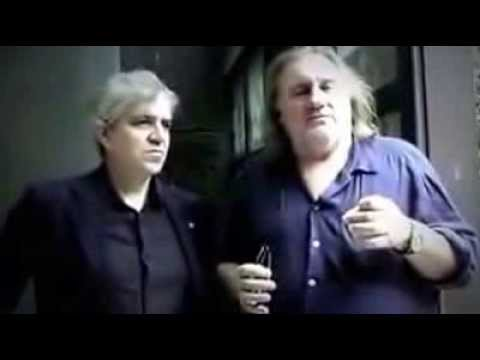 Daniel Cataldo with Depardieu Operazione Sorriso Servant