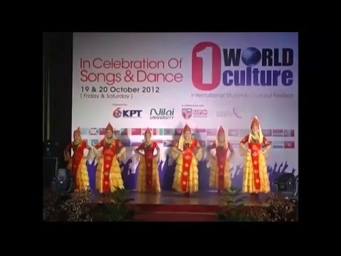 Academic Event @ Nilai U - 1World Culture 2012  Champion of Dance Category